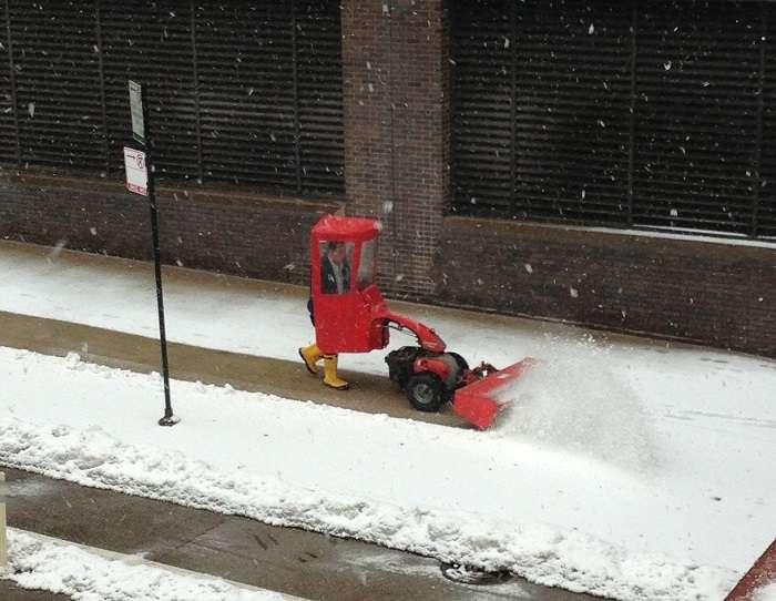 эксплуатация снегоуборщиков